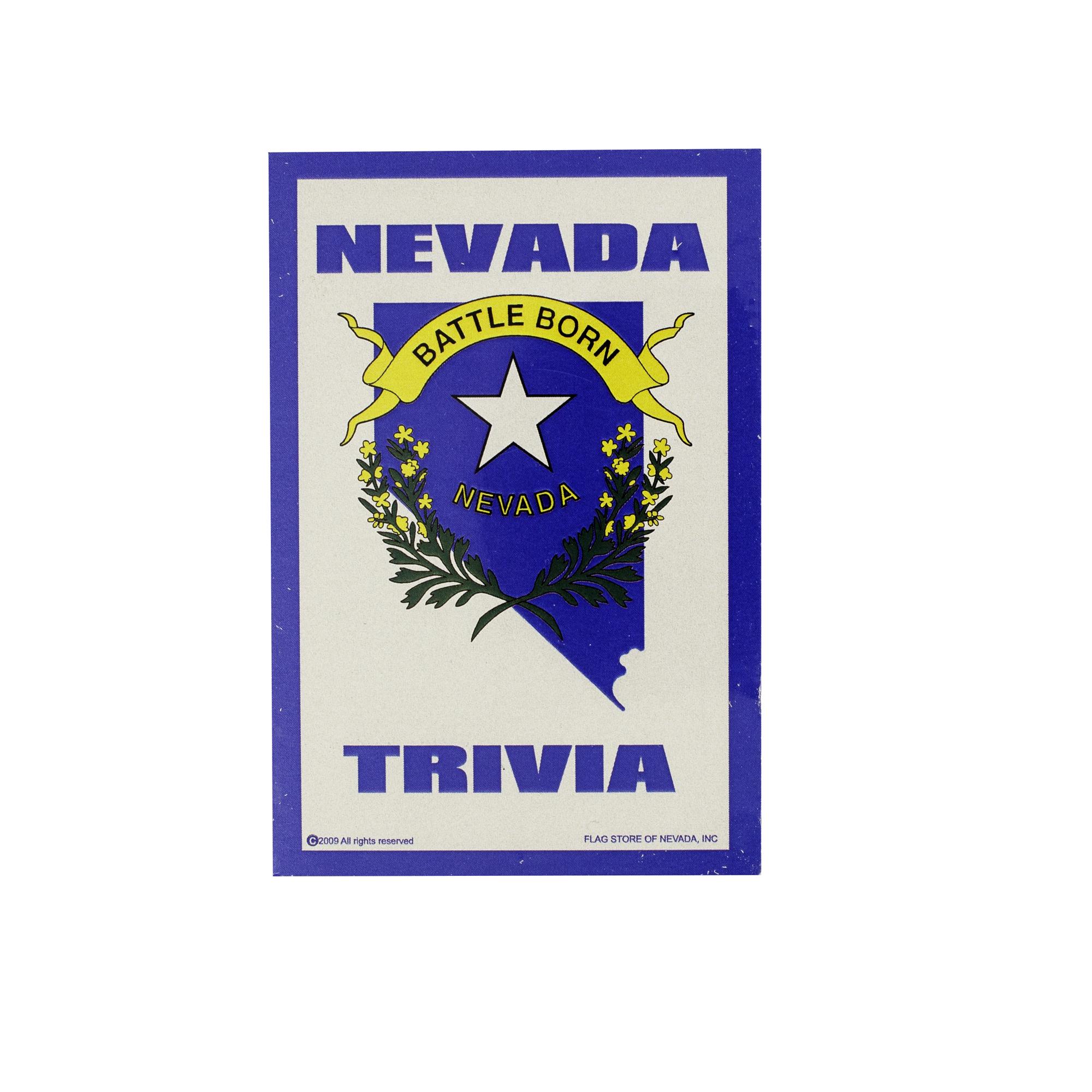 Nevada Trivia - 500 Extra Trivia Questions - Battleborn Edition