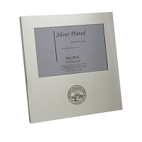 Silver Tone Metal Frame with Nevada State Seal at Bottom - 4