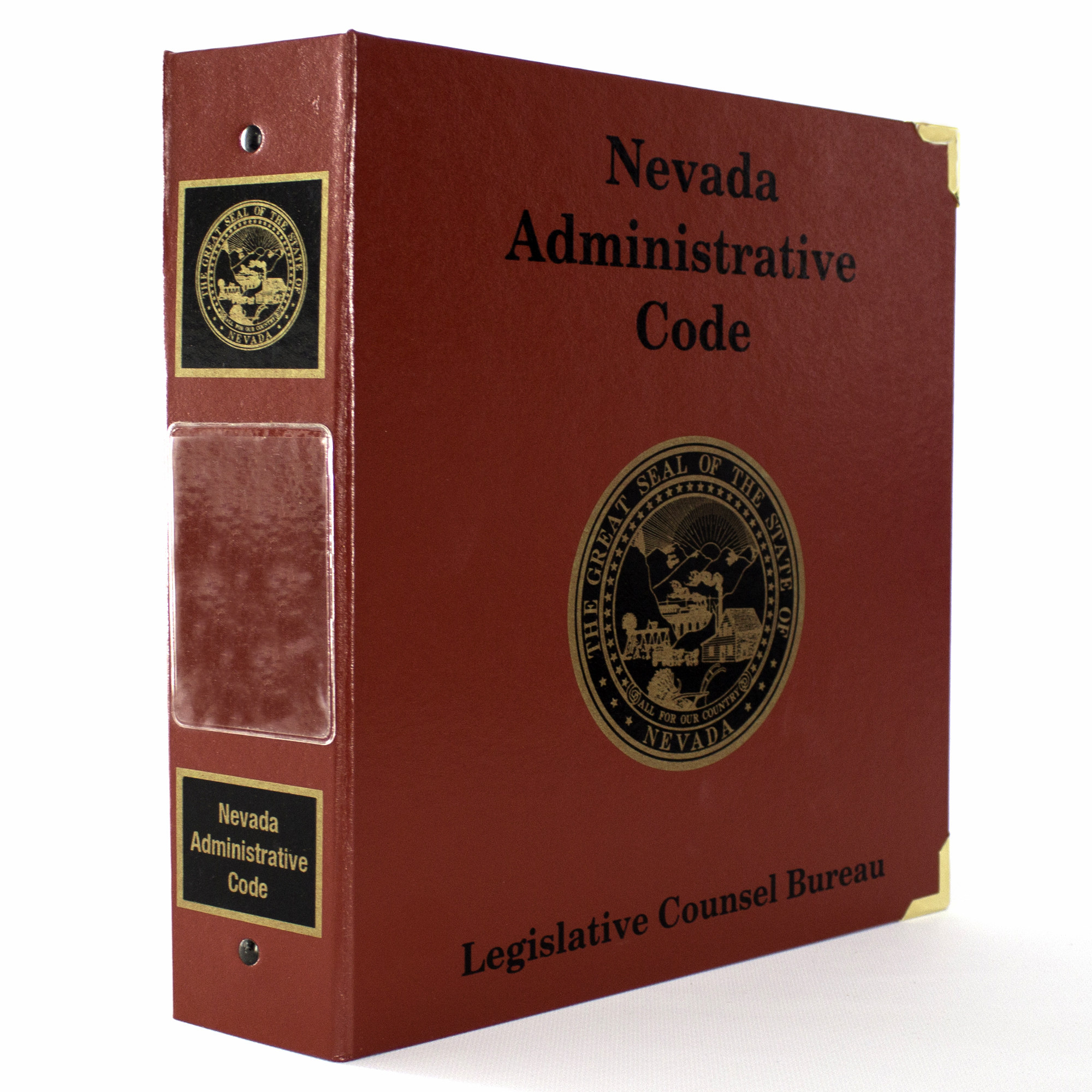 Nevada Revised Statutes >> Nevada Administrative Code Supplement Subscription - July ...