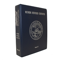 Nevada Revised Statutes Classic Binder