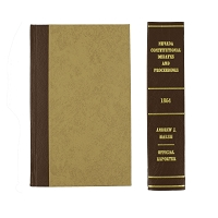 Nevada Constitutional Debates and Proceedings 1864