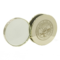 Magnifying Glass with Nevada State Seal - Gold