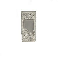 Money Clip - Nevada State Sterling Silver Hand Tooled