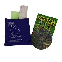 Hopscotch with  Carrying Pouch Featuring Desert Bighorn Sheep