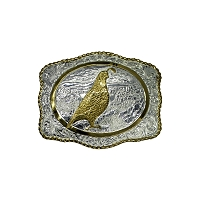 Belt Buckle - Mountain Quail