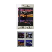 Note Cards - Box of 8 with Four Nevada Locations