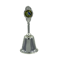 Collectible Souvenir Bell with Nevada Bluebird Emblem