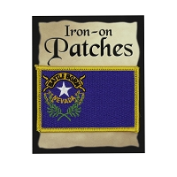 Patch - Nevada Flag Iron-on  Patch