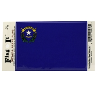 Nevada State Flag Decal - Large 3 1/4