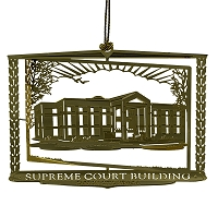Ornament - Nevada Supreme Court Building Bronze Ornament