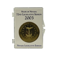 Medallion - 2003 Bronze Nevada Legislative Medallion