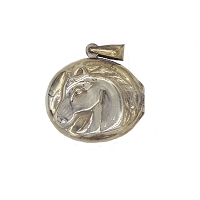 Pendant - Sterling Silver Horse Head Locket