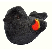 Bird - Plush - Red-Winged Blackbird