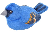 Bird - Plush - Blue Grosebeak