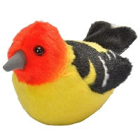 Bird - Plush - Western Tanager