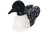 Duck - Plush - Common Loon