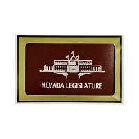 Playing Cards - Nevada Legislature - Blue or Burgundy