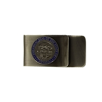 Money Clip - Nevada State Seal on a Steel Money Clip