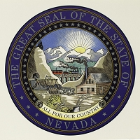 Poster - Nevada State Seal Color Poster - Small
