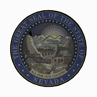 Nevada State Seal Color Poster - Large