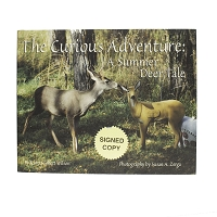 The Curious Adventure: A Summer Deer Tale by Karen Collett Wilson and Photography by Susan A. Zerga