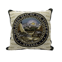Nevada State Seal Pillow