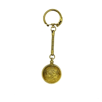 Key Chain - Nevada State Quarter - Gold Plated