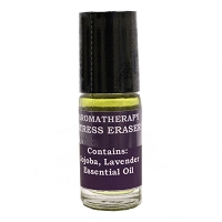 Aromatherapy Jojoba and Lavender Essential Oil Roll-On Stress Eraser - Made in Nevada
