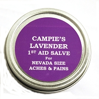 Lavender First Aid Salve 2 oz. - Made in Nevada