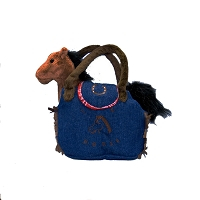 Plush - Pony Purse - Denim
