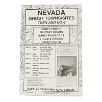 Nevada Ghost Town/Sites Then & Now - Maps