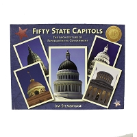 Fifty State Capitols - The Architecture of Representative Government  by Jim Stembridge