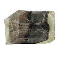 Platinum, Gold and Copper Soap Rock