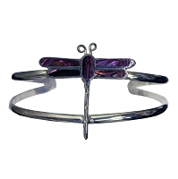 Bracelet - Dragonfly with Shell Inlays