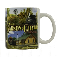 Carson City, Nevada Mug - 11 oz.
