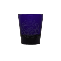 Cobalt Shot Glass with Nevada State Seal - 1.5 oz.