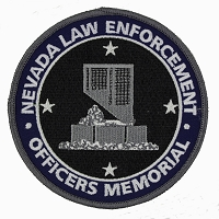 Patch - Nevada Law Enforcement Officers Memorial Patch