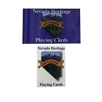 Playing Cards - Nevada Heritage Historical Sites