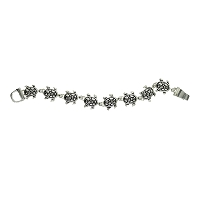 Tortoise Bracelet with Magnetic Link Clasp