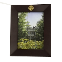Frame - Rosewood Picture Frame with the Nevada State Seal Engraved with Gold Fill at the Top 5
