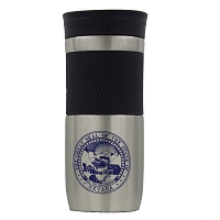 Travel Mug with Nevada State Seal - Stainless Steel  - 16 oz.