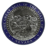 Nevada State Seal - Molded 15