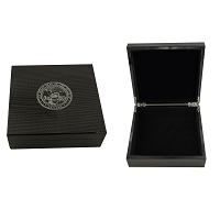 Box - Carbon Fiber Box with a Silver Nevada State Seal on Top