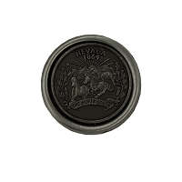 Golf Ball Marker - Cameo Nevada State Quarter with Pewter Finish