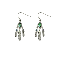 Earrings - Tribal Feathers