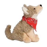 Plush - Sitting Trickster Coyote 6.5