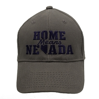 Cap - Home Means Nevada Cap - Grey