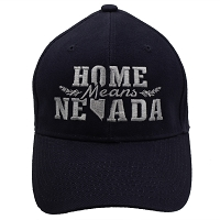 Cap - Home Means Nevada - Blue