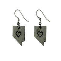 Earrings - Nevada Heart