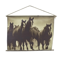 Canvas Wall Art - Eaton's Ranch Remuda Horses